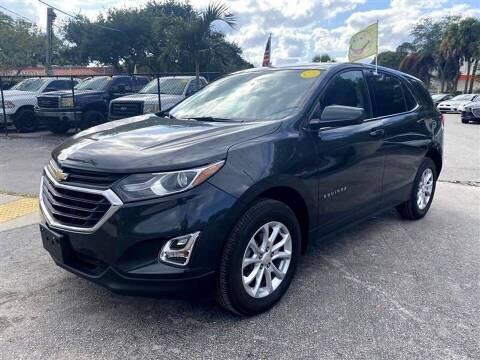 2019 Chevrolet Equinox for sale at EZ Own Car Sales of Miami in Miami FL