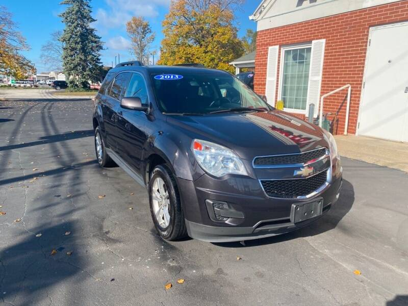 2013 Chevrolet Equinox for sale at Motornation Auto Sales in Toledo OH