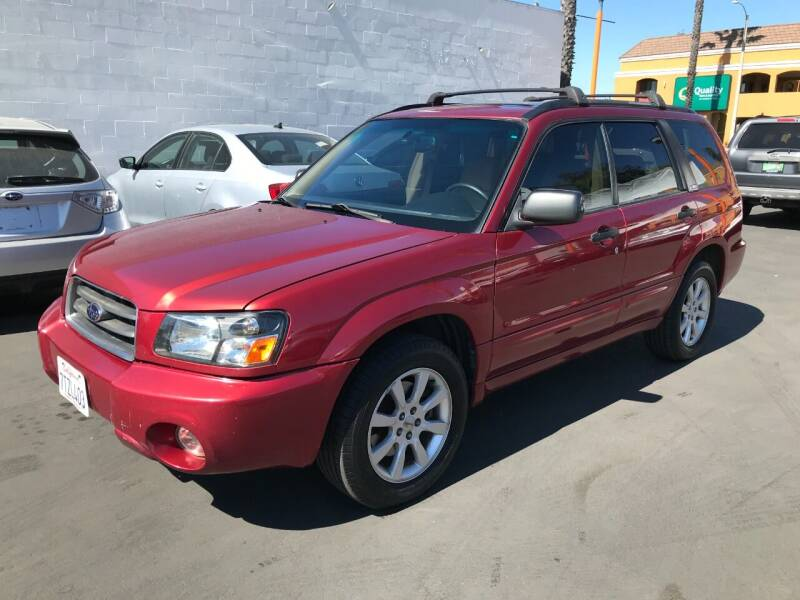 2004 Subaru Forester for sale at Shoppe Auto Plus in Westminster CA