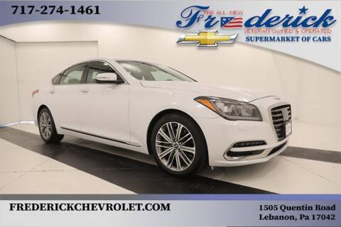 2018 Genesis G80 for sale at Lancaster Pre-Owned in Lancaster PA