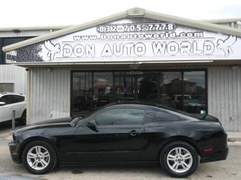 2014 Ford Mustang for sale at Don Auto World in Houston TX