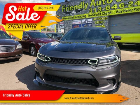 2016 Dodge Charger for sale at Friendly Auto Sales in Detroit MI