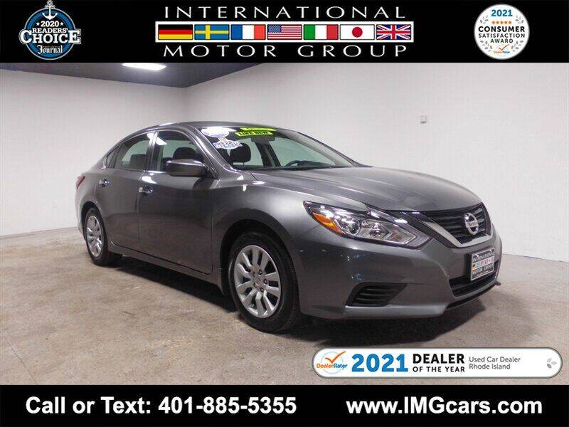 2018 Nissan Altima for sale at International Motor Group in Warwick RI