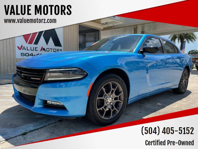 2018 Dodge Charger for sale at VALUE MOTORS in Kenner LA