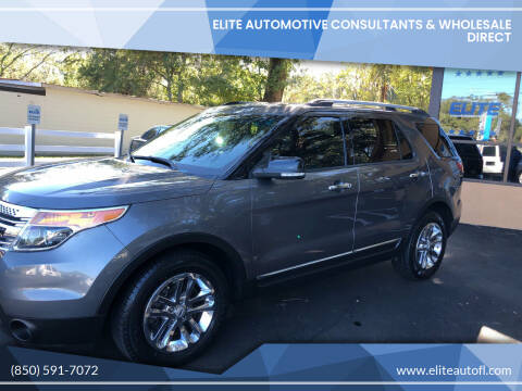2013 Ford Explorer for sale at Elite Automotive Consultants & Wholesale Direct in Tallahassee FL