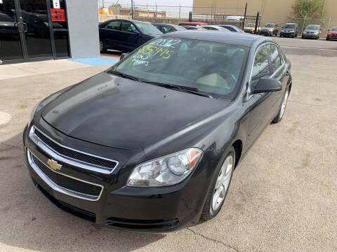 2012 Chevrolet Malibu for sale at Legend Auto Sales in El Paso TX