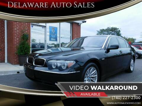 2005 BMW 7 Series for sale at Delaware Auto Sales in Delaware OH