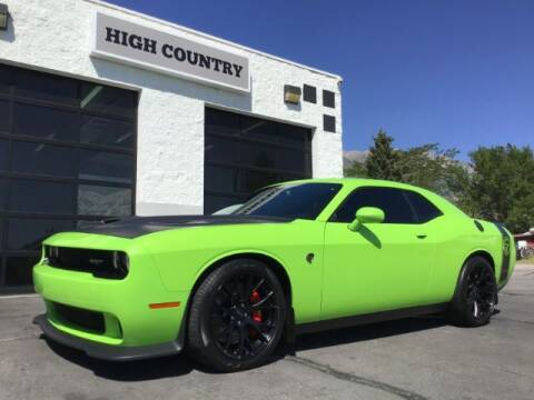 2015 Dodge Challenger for sale at High Country Motor Co in Lindon UT