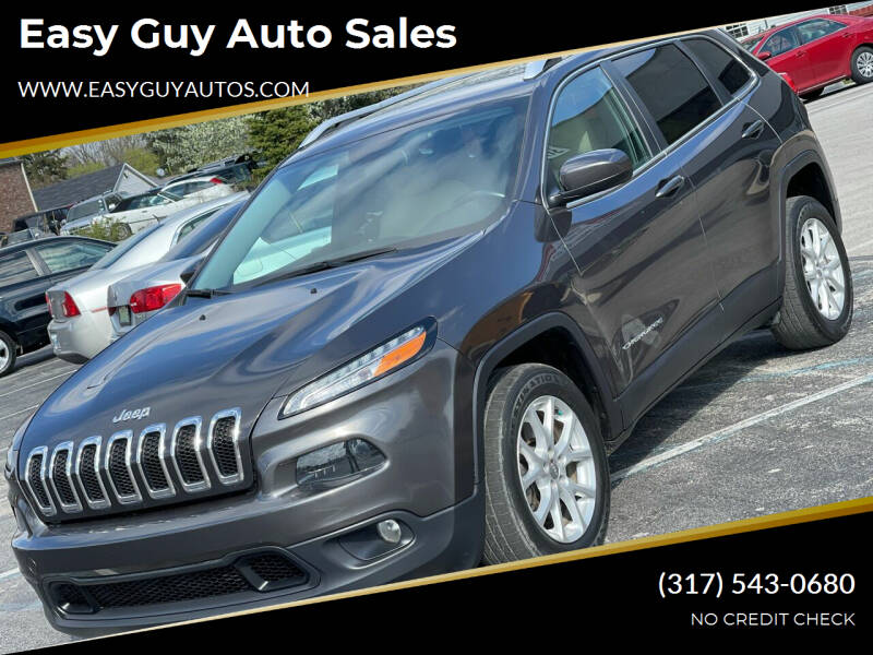 2016 Jeep Cherokee for sale at Easy Guy Auto Sales in Indianapolis IN