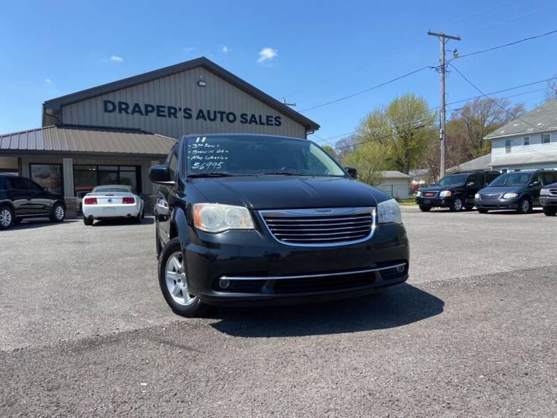 2011 Chrysler Town and Country for sale at Drapers Auto Sales in Peru IN