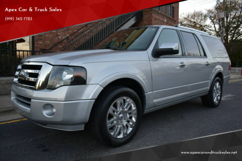 2014 Ford Expedition EL for sale at Apex Car & Truck Sales in Apex NC