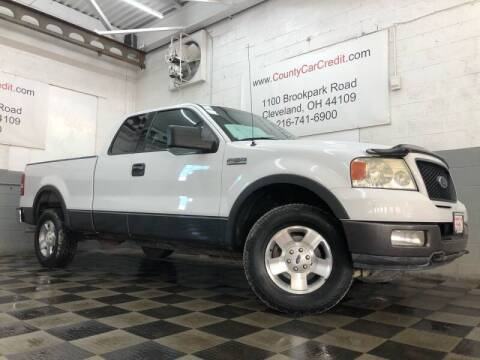 2004 Ford F-150 for sale at County Car Credit in Cleveland OH