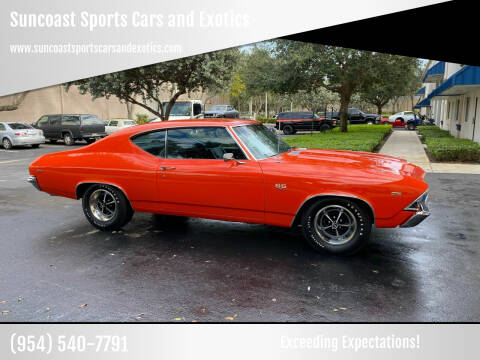 1969 Chevrolet SS 396 for sale at Suncoast Sports Cars and Exotics in West Palm Beach FL