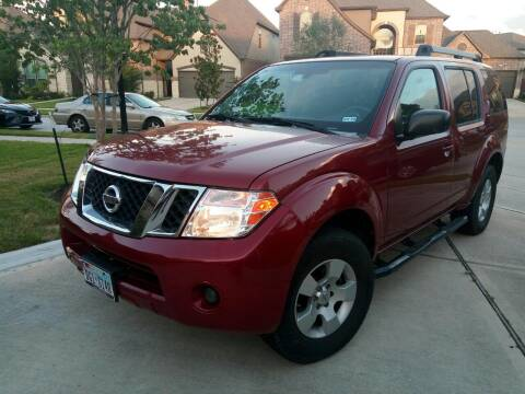 2008 Nissan Pathfinder for sale at CARWIN MOTORS in Katy TX