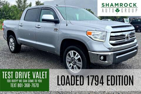 2017 Toyota Tundra for sale at Shamrock Group LLC #1 in Pleasant Grove UT