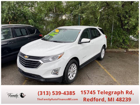2020 Chevrolet Equinox for sale at The Family Auto Finance in Redford MI