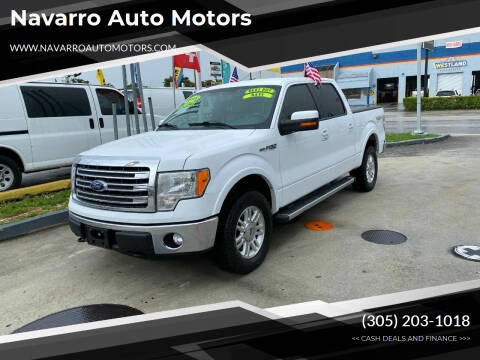 2014 Ford F-150 for sale at Navarro Auto Motors in Hialeah FL
