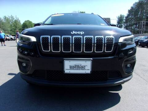 2019 Jeep Cherokee for sale at Mark's Discount Truck & Auto in Londonderry NH
