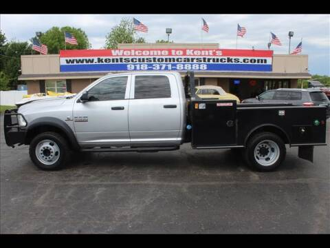 2014 RAM Ram Chassis 5500 for sale at Kents Custom Cars and Trucks in Collinsville OK