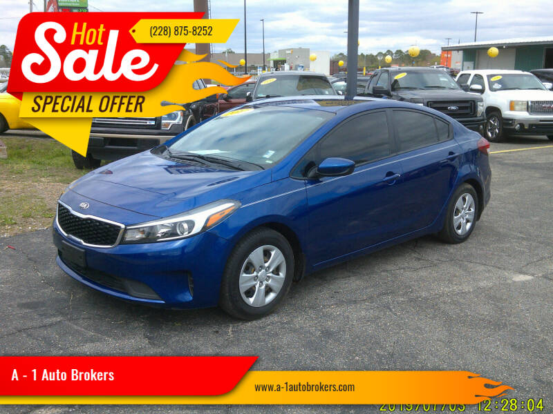 2017 Kia Forte for sale at A - 1 Auto Brokers in Ocean Springs MS