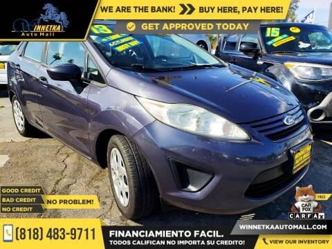 2013 Ford Fiesta for sale at Winnetka Auto Mall in Winnetka CA