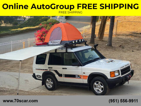 1999 Land Rover Discovery for sale at Online AutoGroup FREE SHIPPING in Riverside CA