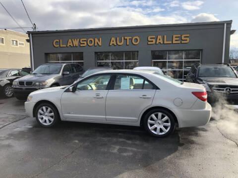 2007 Lincoln MKZ for sale at Clawson Auto Sales in Clawson MI