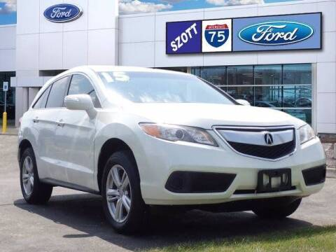 2015 Acura RDX for sale at Szott Ford in Holly MI