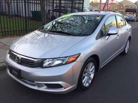 2012 Honda Civic for sale at Commercial Street Auto Sales in Lynn MA
