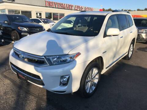 2013 Toyota Highlander Hybrid for sale at DriveSmart Auto Sales in West Chester OH