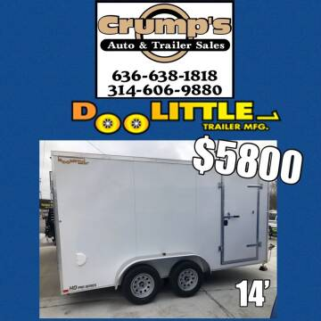 2021 Doolittle 14' Enclosed Trailer  for sale at CRUMP'S AUTO & TRAILER SALES in Crystal City MO