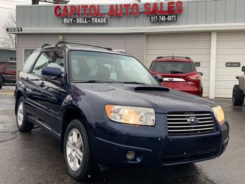 2006 Subaru Forester for sale at Capitol Auto Sales in Lansing MI