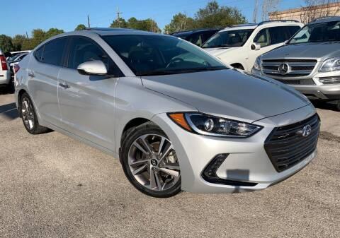 2017 Hyundai Elantra for sale at KAYALAR MOTORS in Houston TX
