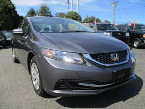 2014 Honda Civic for sale at Unlimited Auto Sales Inc. in Mount Sinai NY