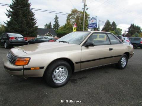 1988 Toyota Celica for sale at Hall Motors LLC in Vancouver WA