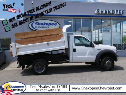 2005 Ford F-450 Super Duty for sale at SHAKOPEE CHEVROLET in Shakopee MN