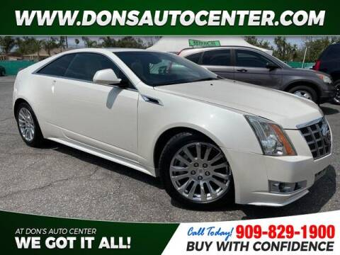 2012 Cadillac CTS for sale at Dons Auto Center in Fontana CA
