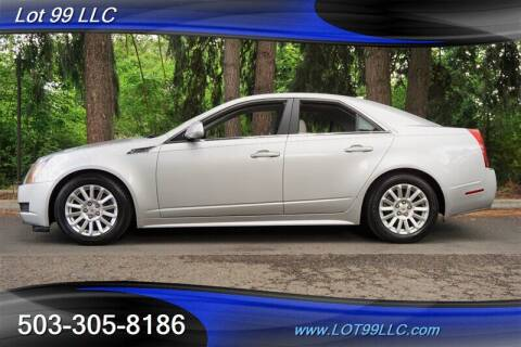 2010 Cadillac CTS for sale at LOT 99 LLC in Milwaukie OR