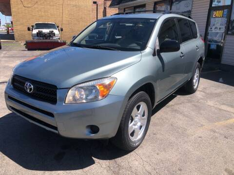 2007 Toyota RAV4 for sale at TOP YIN MOTORS in Mount Prospect IL
