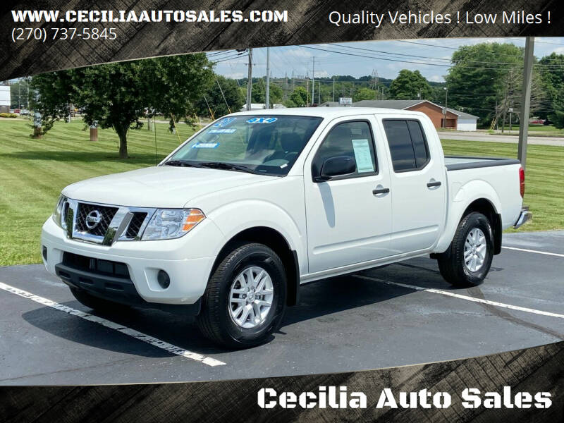 2021 Nissan Frontier for sale at Cecilia Auto Sales in Elizabethtown KY