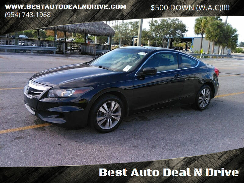 2012 Honda Accord for sale at Best Auto Deal N Drive in Hollywood FL
