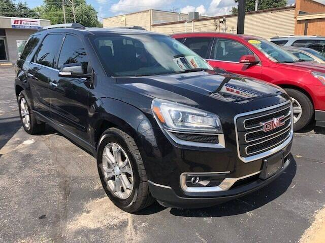 2014 GMC Acadia for sale at RT Auto Center in Quincy IL