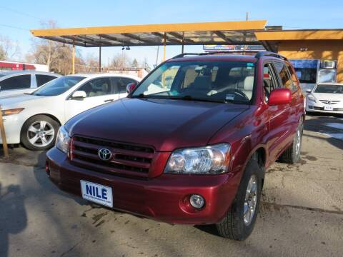 2007 Toyota Highlander for sale at Nile Auto Sales in Denver CO