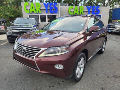 2015 Lexus RX 350 for sale at Car Yes Auto Sales in Baltimore MD