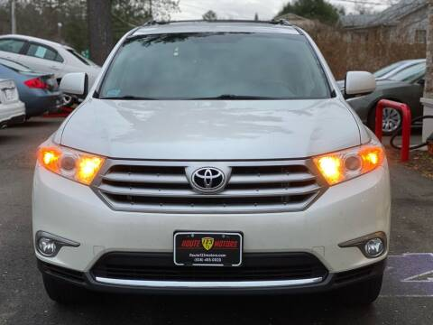 2013 Toyota Highlander for sale at Route 123 Motors in Norton MA