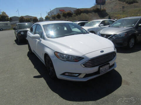 2018 Ford Fusion for sale at Guy Strohmeiers Auto Center in Lakeport CA