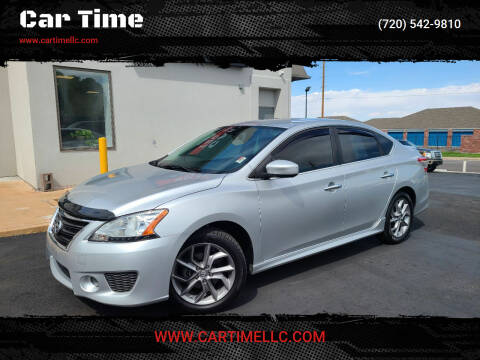 2014 Nissan Sentra for sale at Car Time in Denver CO