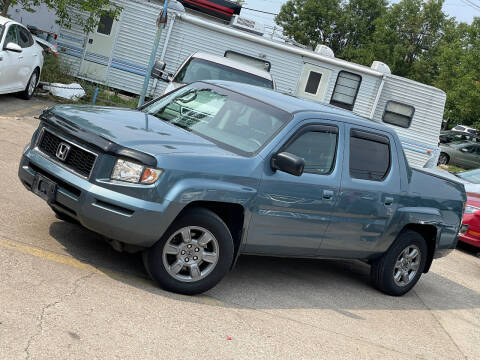 2007 Honda Ridgeline for sale at Exclusive Auto Group in Cleveland OH