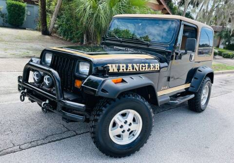 1987 Jeep Wrangler for sale at PennSpeed in New Smyrna Beach FL