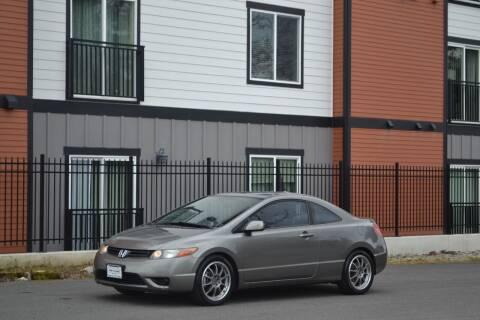 2007 Honda Civic for sale at Skyline Motors Auto Sales in Tacoma WA